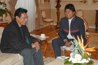 Rene Joaquino-Evo Morales