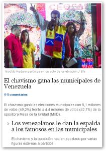 el dia tenerife elecciones venezuela 2013