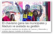 el periodico elecciones venezuela 2013 municipales