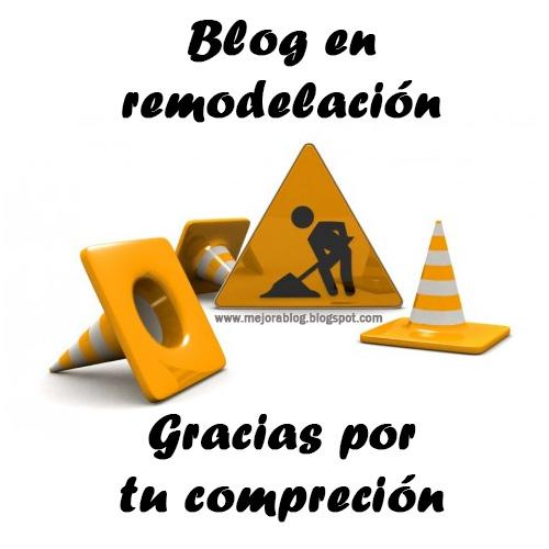 Blog en remodelación